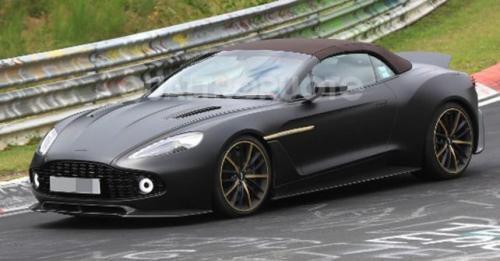 2017 Aston Martin Vanquish Zagato Volante Tetsing