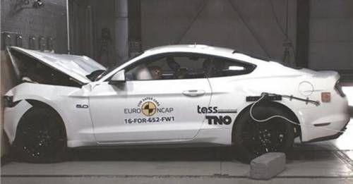 2017 Ford Mustang Crash Test Result NCAP