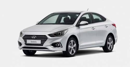 2017 Hyundai Verna Front Three Quarter