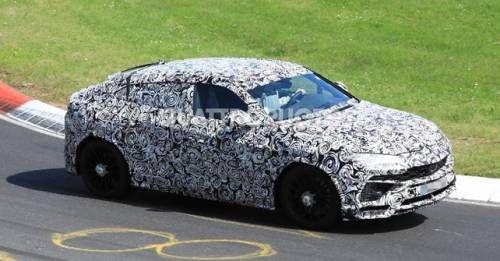 2017 Lamborghini Spy Shot Front