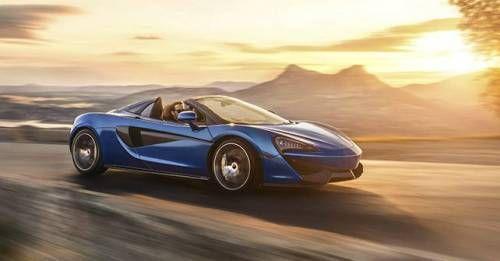 2017 McLaren 570S Spider Front Dynamic