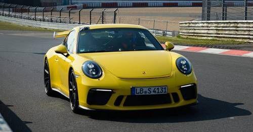 2017 Porsche 911 GT3 Nurburgring
