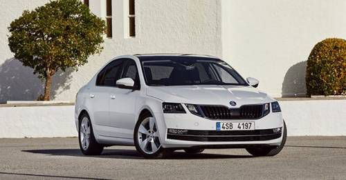 2017 Skoda Octavia Front Three Quarter