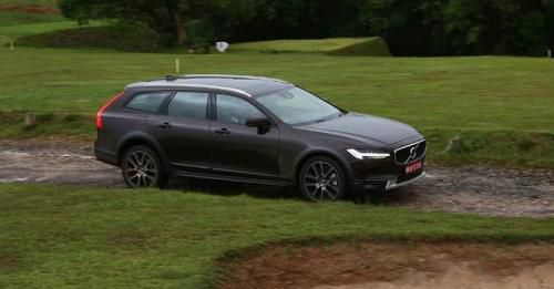 2017 Volvo V90 Cross Country Panning Motion Gallery