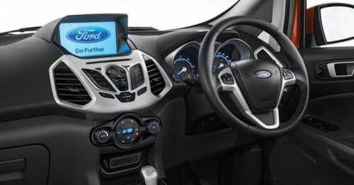 2017 Ford Ecosport Titanium Touchscreen Infotainment System