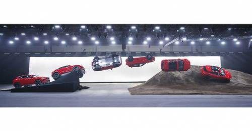 2018 Jaguar E Pace Barrel Roll World Record Image 1