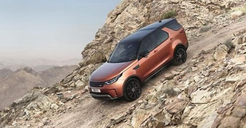2018 Land Rover Discovery Front Off Road