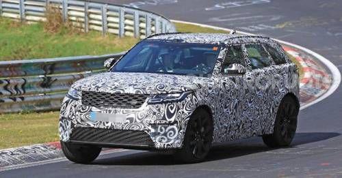 2018 Range Rover Velar SVR Spy Shots Front