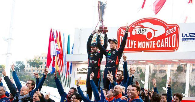 WRC 2020: Hyundai's Thierry Neuville claims victory in Rallye Monte-Carlo season opener