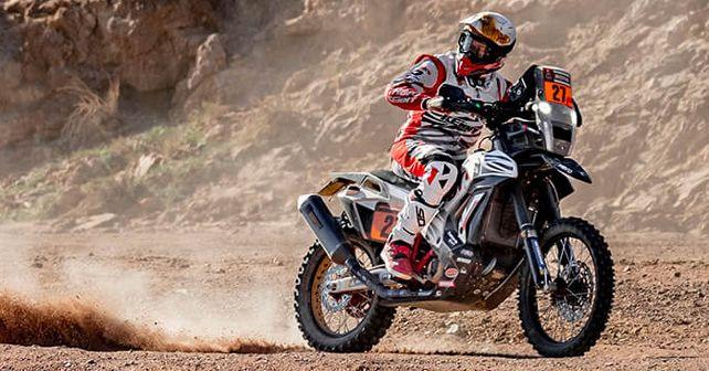 Hero MotoSports During Stage 4 2020 Dakar Rally