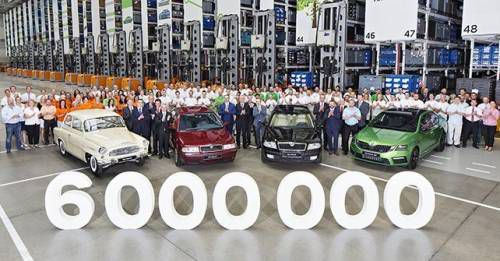 6 Million SKODA OCTAVIA Produced