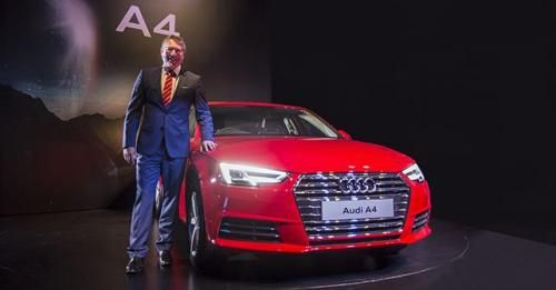 Audi A4 Is Priced At INR 3810000 Onwards Ex Showroom New Delhi And Maharashtra