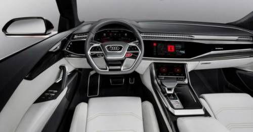 Audi Q8 Concept Interior M