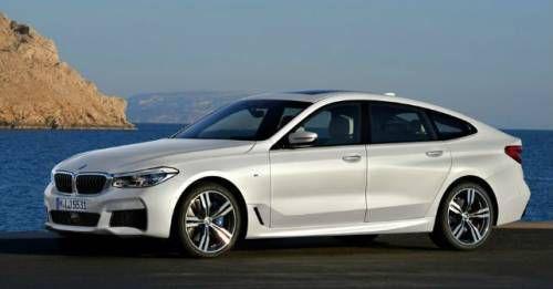 BMW 6GT Front Three Quarter