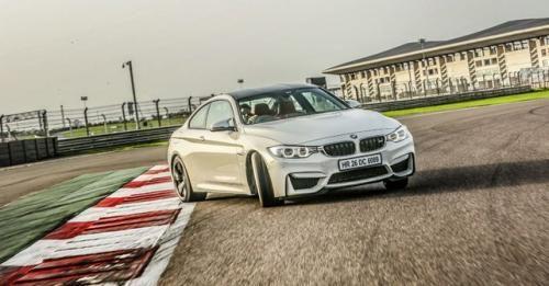 BMW M4 Track Test BIC 11