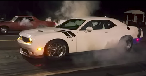 Dodge Challenger Scat Pack Burnout
