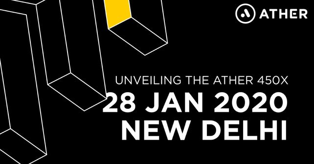 Ather 450X reveal date announcement