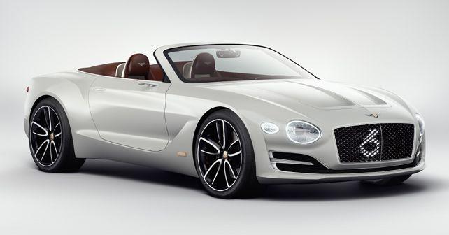 Bentley EXP 12 Speed 6E Concept Exterior Front Quarter