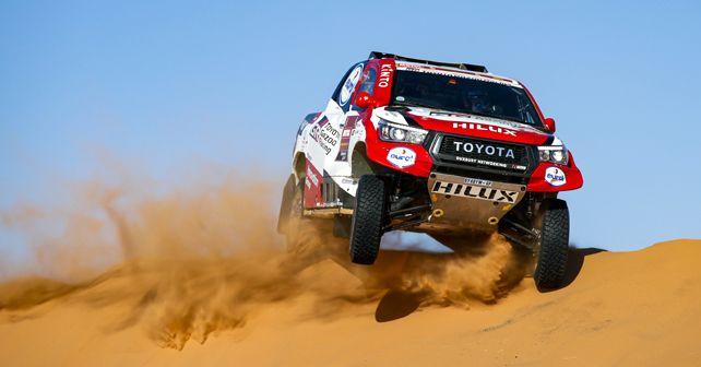 Fernando Alonso 2020 Dakar Rally Stage 8