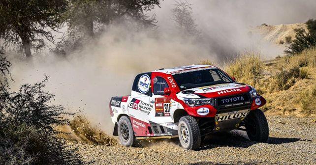 Fernando Alonso Toyota Gazoo Racing Dakar 2020 Stage 9