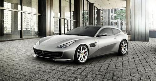 Ferrari GTC4Lusso T Front