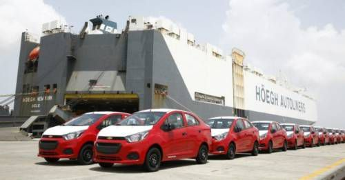 GM India Starts Shipment Chevrolet Beat Sedan M