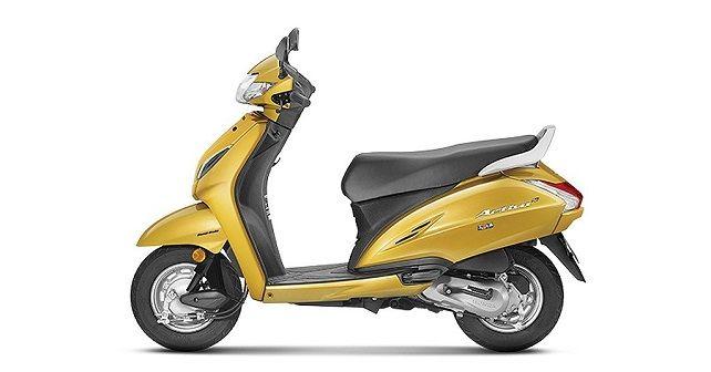 Honda Activa 5G Yellow