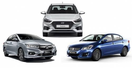 Honda City Vs Maruti Ciaz Vs Hyundai Verna Spec Comparison Check