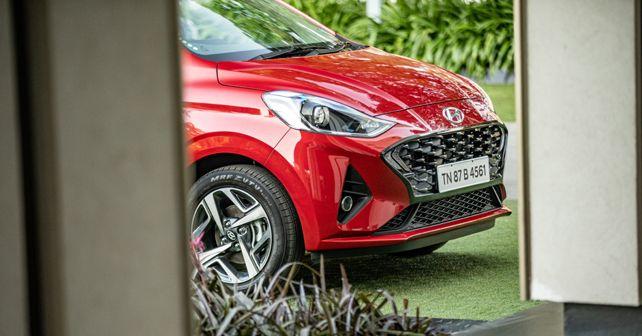 Hyundai Aura Front Design