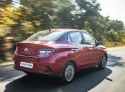 Hyundai Aura image Rear Quarter Motion1