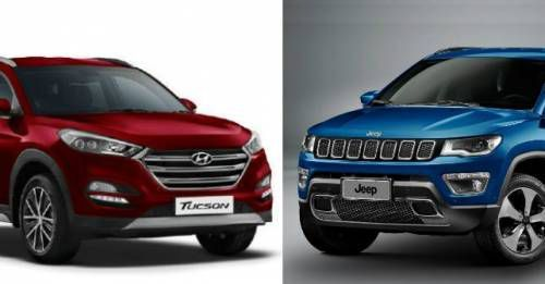 Hyundai Tucson Vs Jeep Compass Spec Comparo M