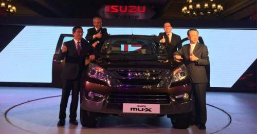 Isuzu MU X Launch India