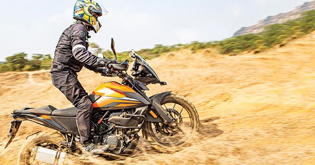 KTM 390 Adventure Off Roading