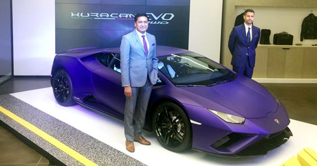 Lamborghini Huracan EVO RWD Launched At Rs 3 22 Crore