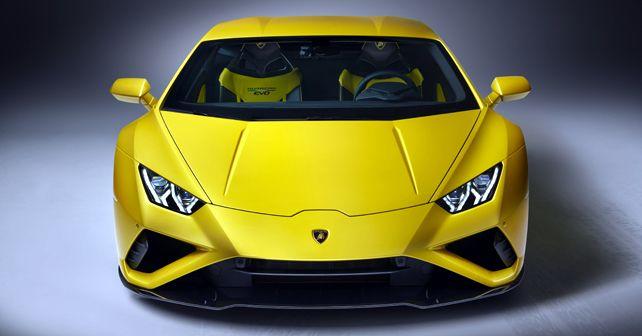 Lamborghini Huracan Evo RWD Front View