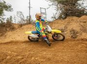 MS Prince off roading with the rmz250