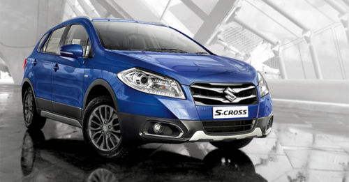 Maruti Suzuki S Cross All New Alloy Wheels Rims