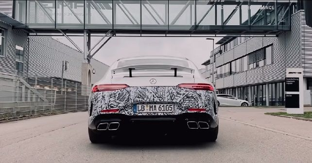 Mercedes AMG GT 73 4 Door Coupe Teaser