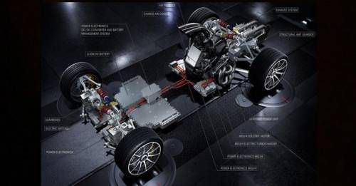 Mercedes AMG Project One Engine