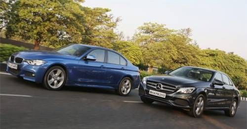 Mercedes Benz C250d Vs BMW 320d MSport