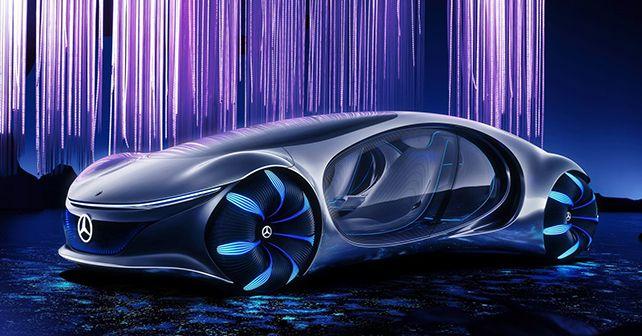 Mercedes Benz Vision Avtr Concept CES 2020