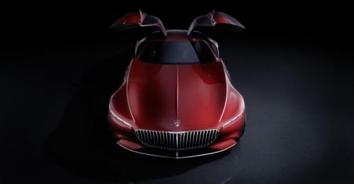Mercedes Maybach Vision 6 Gullwing Doors