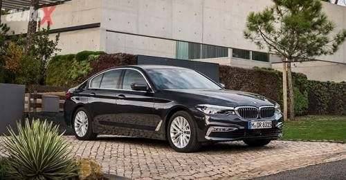 New BMW 5 Series Front Static