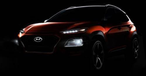 New Hyundai Kona Teaser M