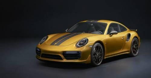 Porsche 911 Turbo S Exclusive Series Front M