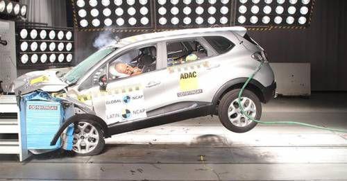 Renault Captur Latin NCAP Crash Test Results