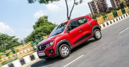 Renault Kwid Side Profile