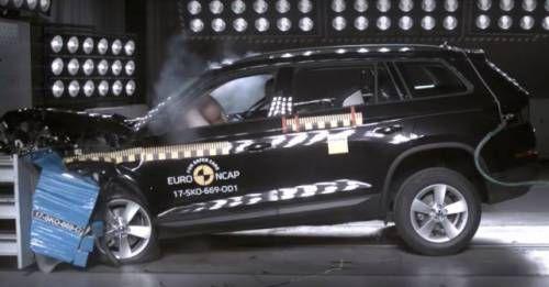 Skoda Kodiaq Euro NCAP Test M