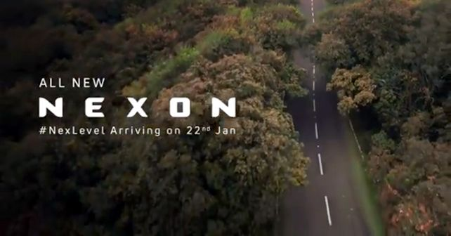 Tata Nexon Facelift Launch Date Teaser