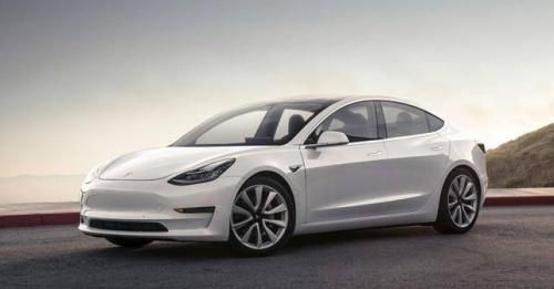 Tesla Model 3 Production Version